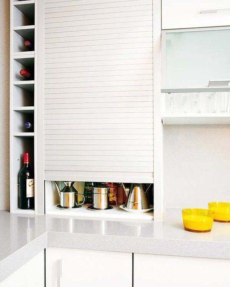 La mejor manera de ganar espacio en tu cocina