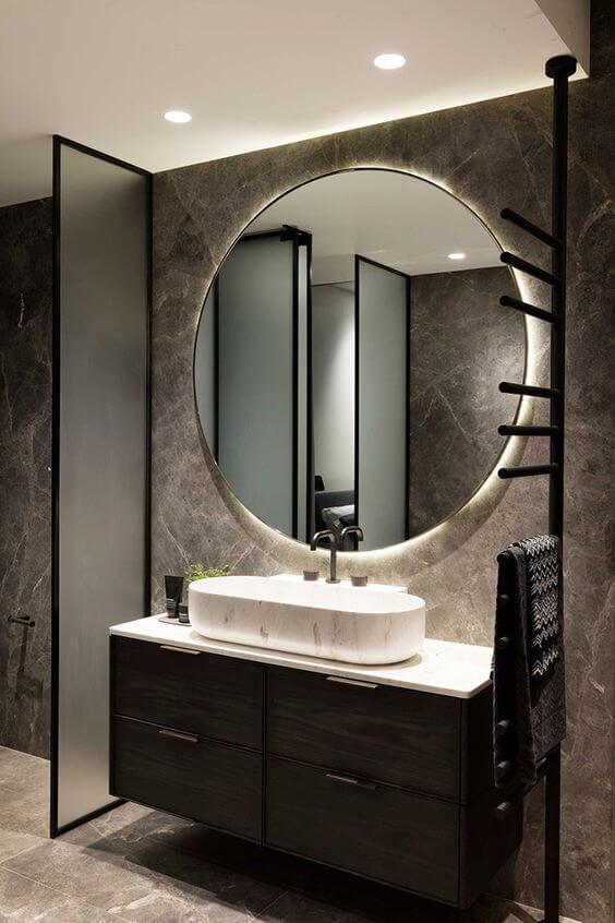 Espejos redondos para tu baño